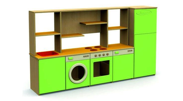 Детская игровая мебель кухня для детского сада фото