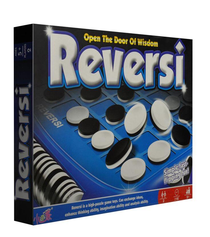 İçindekiler: 8×8 lik kare plastik oyun tahtası ve 64 tane çift renkli (siyah-beyaz) oyun taşı. Oyuncu Sayısı: 2 Oyunun Oynama Şekli ve Kuralları: 1. Reversi özel taşlarla oynanır, bu taşların bir tarafı siyah, diğer taraf beyazdır. Başlangıçta oyun tahtasının ortasındaki dört kareye sırasıyla beyaz ve siyah dört taş koyulur. Oyuncu eğer hamle yapacaksa, kendi taş …