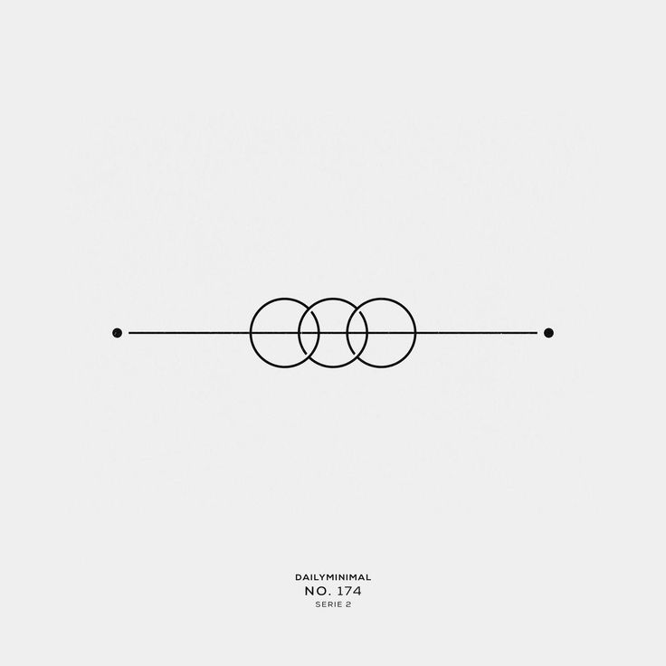 minimales geometrisches Tattoo #Geometrictattoos