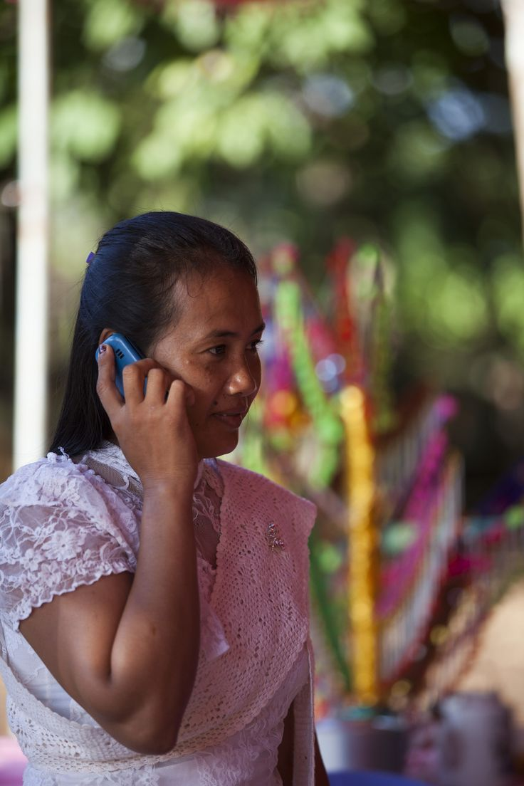 """Kheang Sophan says the pink phones have had a profound impact on the women involved in the project. """"The phones have changed the way the women think, enabling them to become more independent,"""" she says. """"They have also brought to light cases of domestic violence which may have been undiscovered before."""