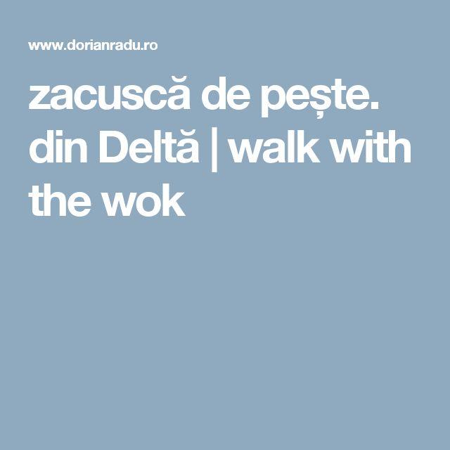 zacuscă de pește. din Deltă | walk with the wok