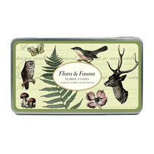 Набор печатей 'Flora&Fauna'