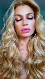Nikki French Makeup Blog: CRANBERRY & GOLD Eye Makeup