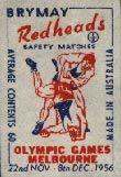 Wrestliing - Australian Matchbox Labels