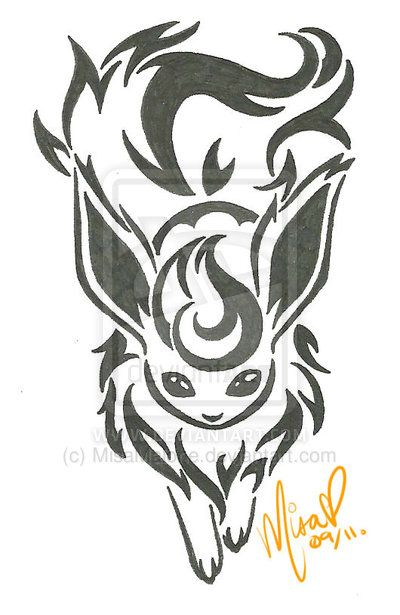 .:: Pokemon - Flareon ::. by MisaMalone on deviantART I love this design so cute !