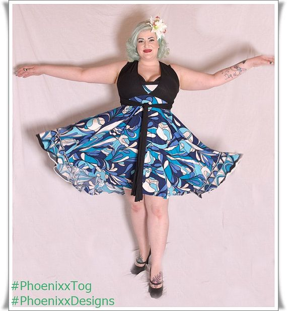 Intricate Women's La Cera Women's Plus Size 3 4 Sleeve Scroll Printed Tunic  Black Blue Pink