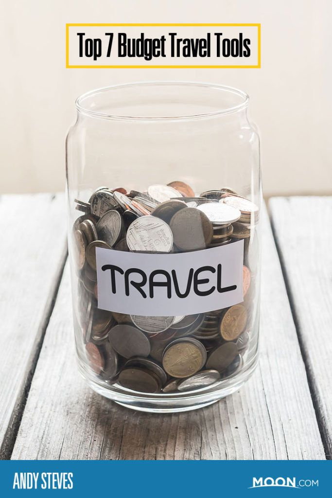 Top 7 Budget Travel Tools for millennial traveler Andy Steves. Great tips for study abroad.
