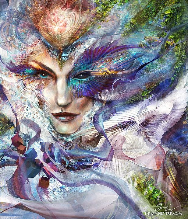 Artwork of Olivia Curry | Goddesses