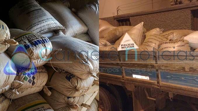 Policia Militar de Campos Gerais recupera carga roubada em Alfenas-MG