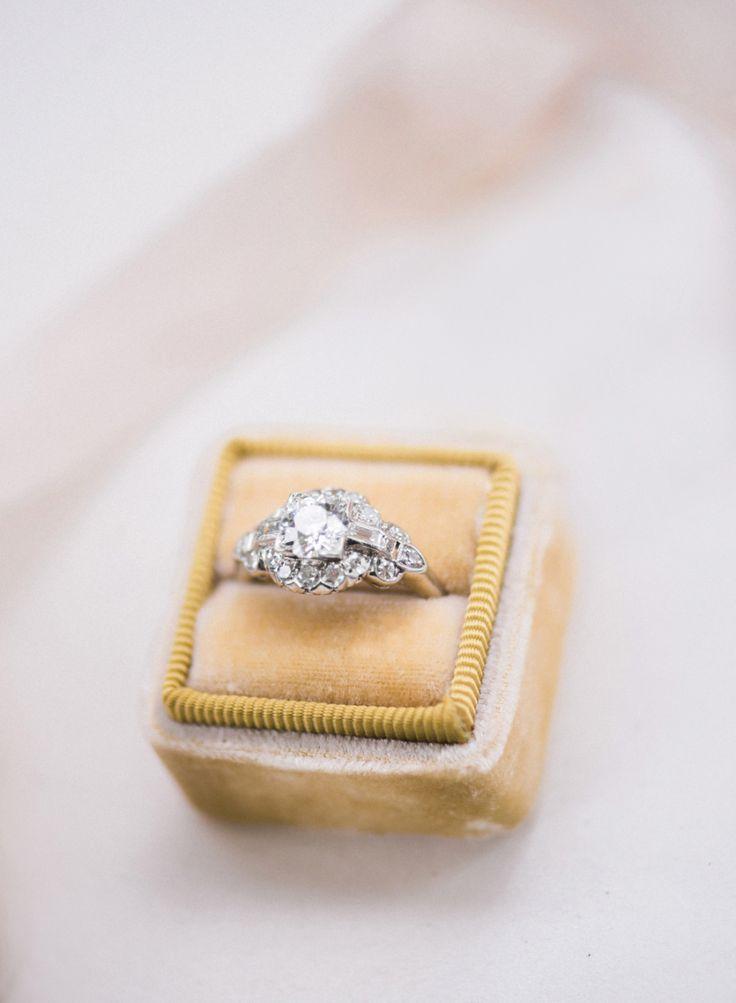 Vintage Engagement Ring | Photography: Audra Wrisley Photography