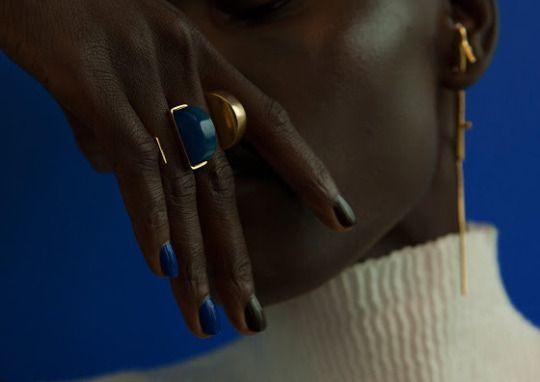 Grace Bol for Paula Mendoza Jewelry F/W 2016 by Tigre Escobar