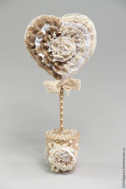 Дерево-валентинка. Handmade.