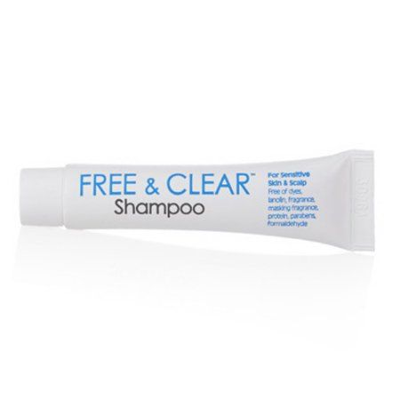 Free And Clear Shampoo For Sensitive Skin Travel Pack  0.25 Oz - 3 Ea