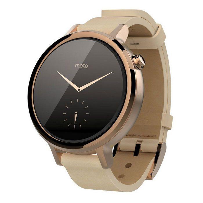 Motorola Moto 360 (2e gen.) vrouwen 42mm slimme horloge - rose goud