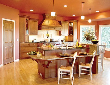 122 Best Images About Kitchen Island Table Combinations On Pinterest Small Kitchens Cabinets