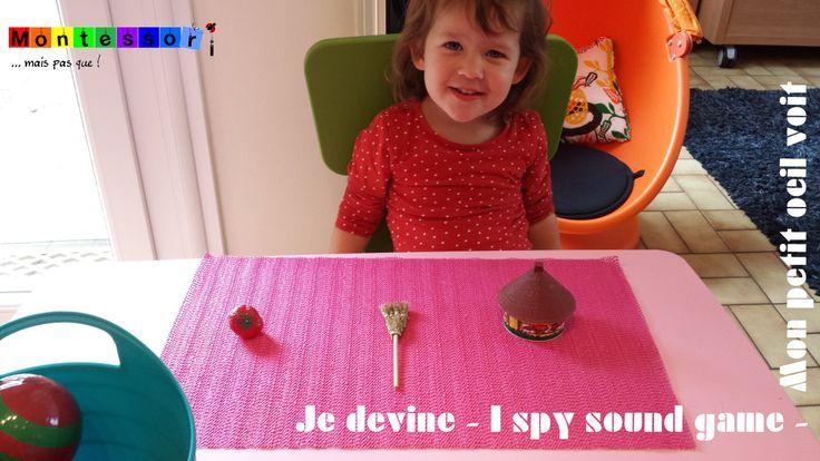 """Quand puis-je proposer à mon enfant le célèbre jeu """"Je devine"""" issu de la pédagogie Montessori ?"""