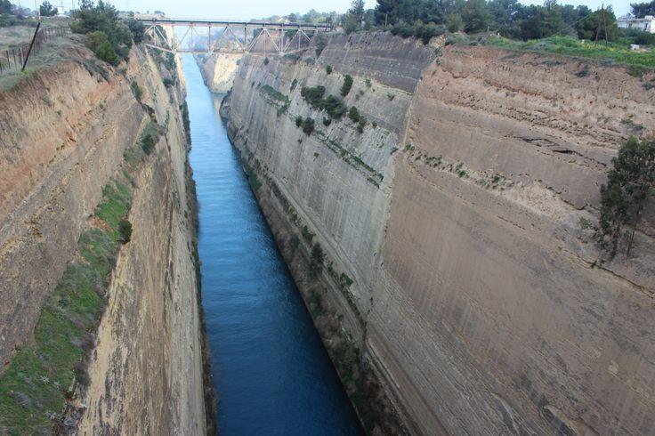 Canal de Corinthe - Grece