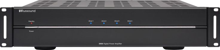 Russound D850. Powerful, cool-running multichannel power amp. Russound's D850 amplifier offers versatile multi-room flexibility and plenty of power when and where you need it for top-notch sound.