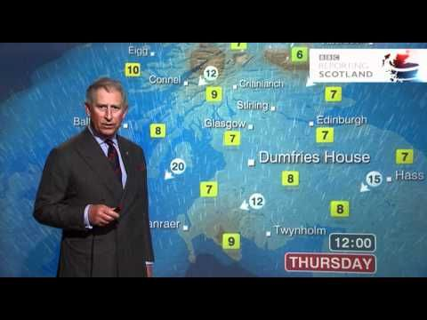 ▶ Prince Charles presents the weather forecast - BBC Scotland - YouTube