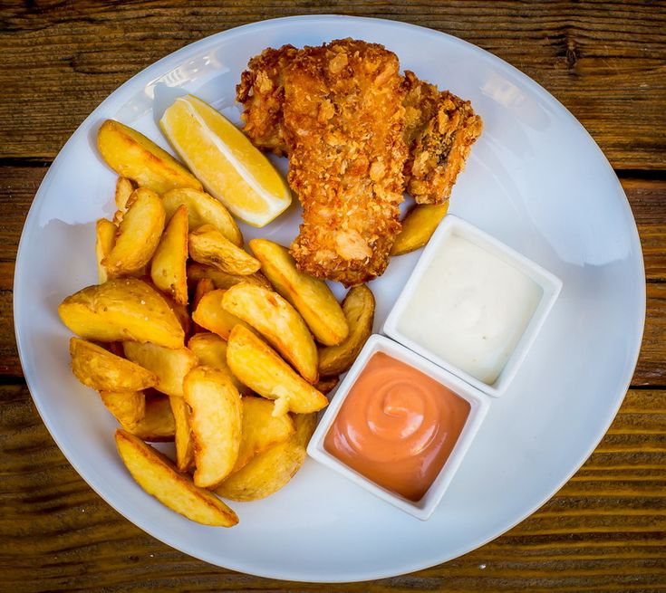 Nemo Fish & Chips & Salad - Panírozott halak