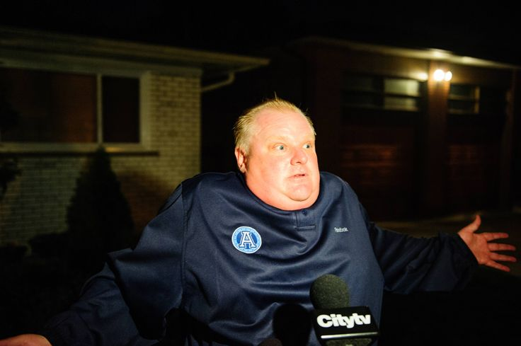 20 Things Worth Knowing About Toronto's Crack-Smoking Mayor, Rob Ford
