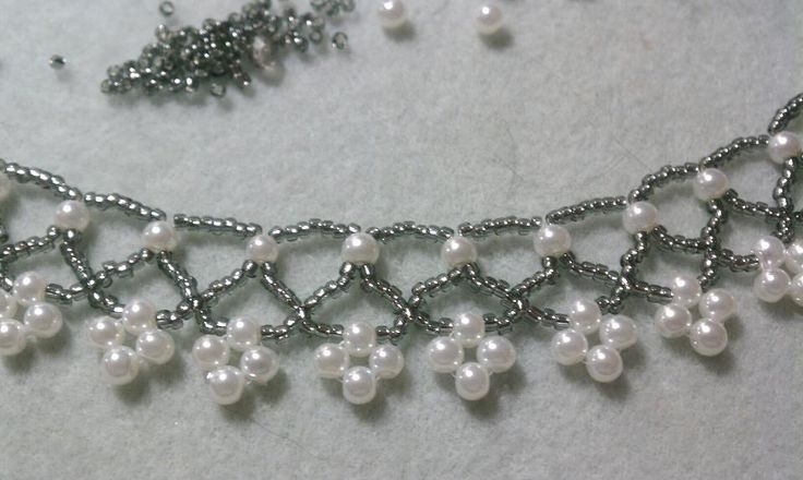 Good use of 4mm Swarovski pearls.