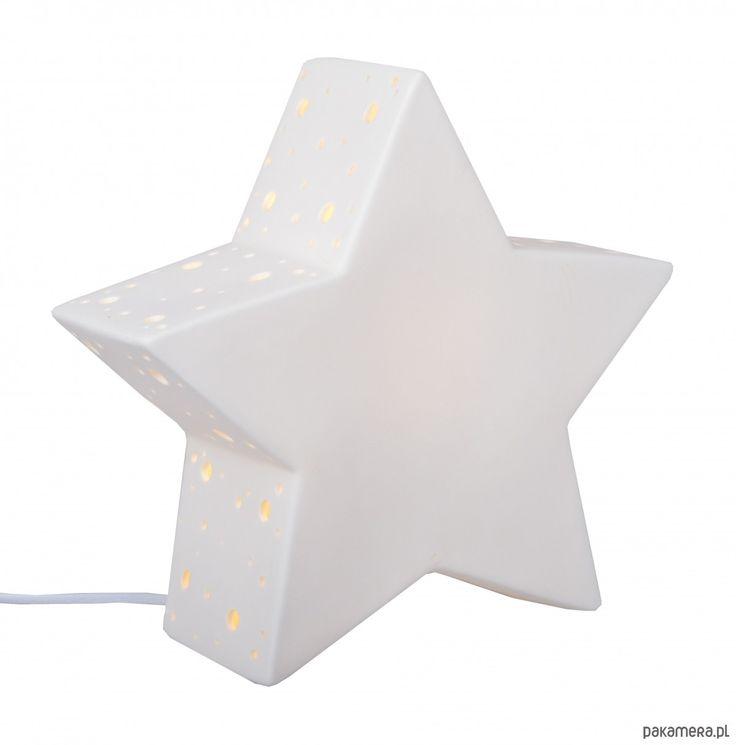 lampy-Lampa ceramiczna Gwiazda I