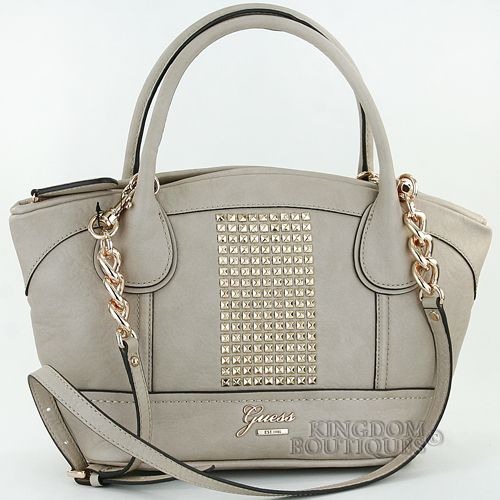 New GuEsS Handbag Ladies Jinan Satchel Shoulder Bag Nude Logo Purse NwT Sac 2013