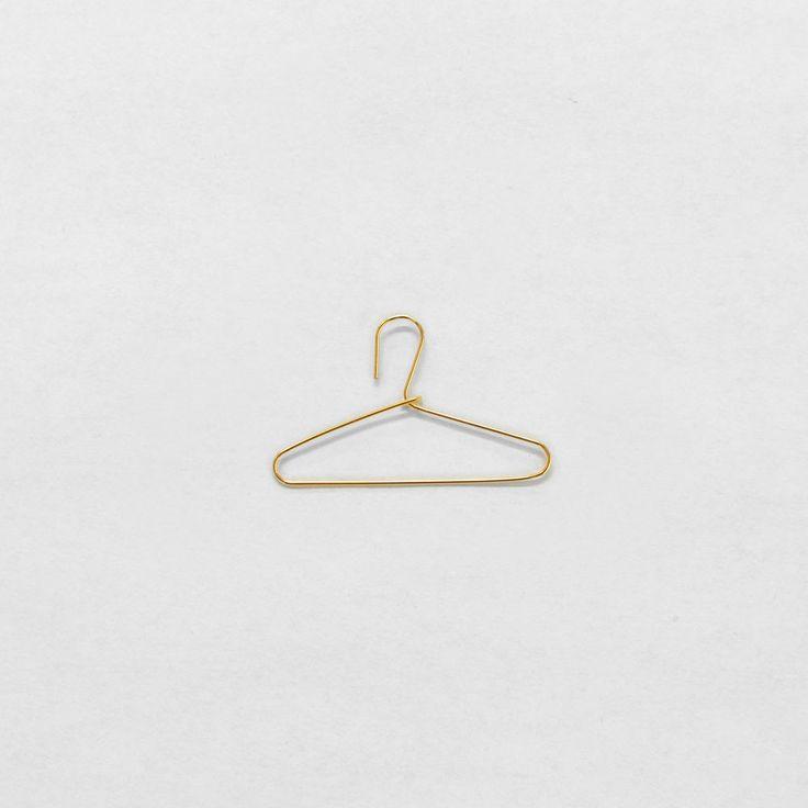 122 best Hangers images on Pinterest   Coat hanger, Metal coat ...