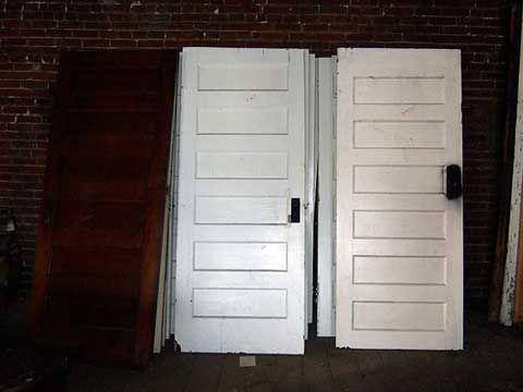 Installing a Salvaged Door