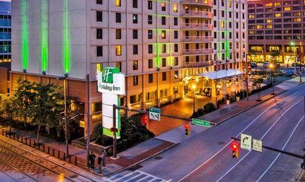 Downtown Baltimore hotel has a sauna, an indoor pool, and two restaurants; roughly a mile from M&T Bank Stadium and Horseshoe Casino