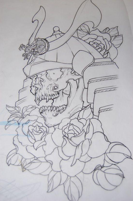 Samurai tattoo_35