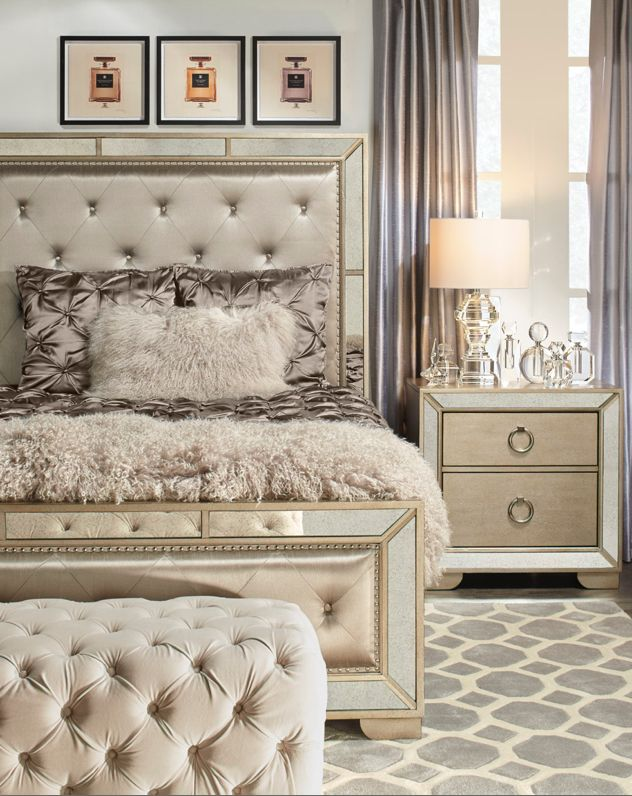 Best 25+ Glam bedroom ideas on Pinterest | College bedroom ...