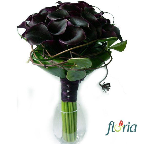 Buchet de 29 cale negre - reducere 57% | Livrare flori in 2 ore de la Floria
