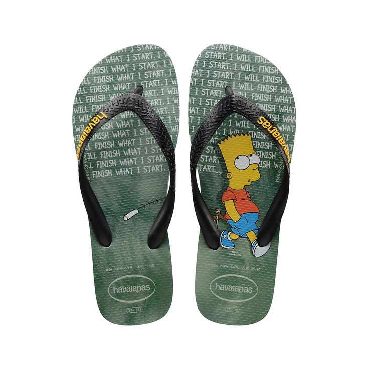 Havaianas Simpsons Ice Grey Flip Flops  Price From: £13.66