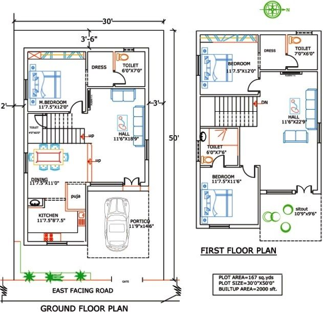 Best 25 duplex house plans ideas on pinterest duplex Home plan for 1200 sq ft indian style
