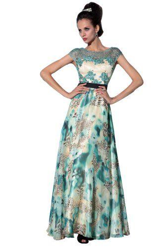 BPSFStudios Multi-Color Print Bateau Neck Formal Evening Dress w/ Cap Sleeve - XL - Print BPSFStudios http://www.amazon.com/dp/B00B8PAKZQ/ref=cm_sw_r_pi_dp_saCcub0CE7PXB