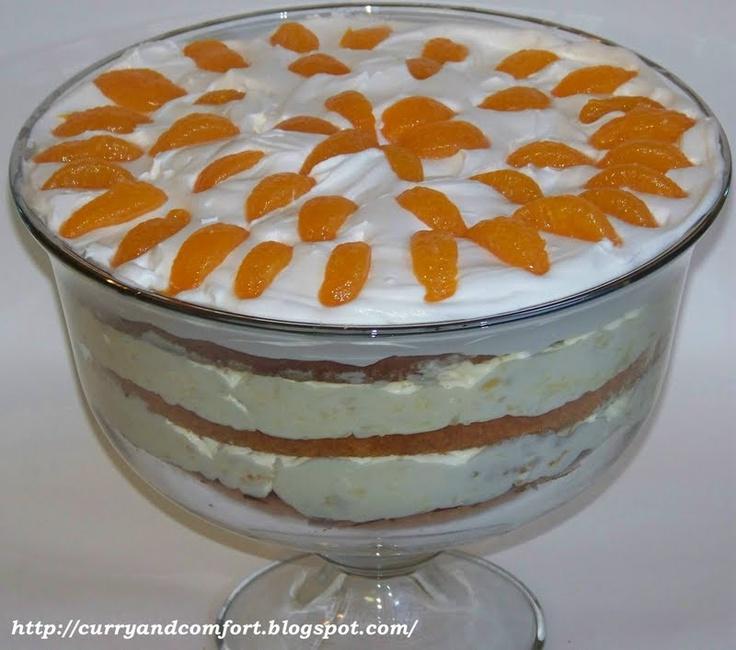 easter dessert? orange pineapple trifle