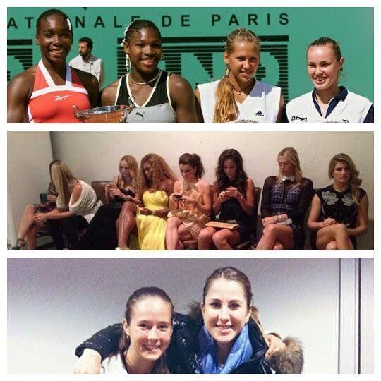 WTA: YESTERDAY TODAY AND TOMORROW  ENG: http://ift.tt/1Nbsfaw ESP: http://ift.tt/1YwigNS  Yesterday/ayer: 1999 Roland Garros Doubles Final/Final de dobles. V. Williams S. Williams A. Kournikova M. Hingis. Photo/Foto: Unknown. Today/hoy: 2014 WTA Finals. S. Halep P. Kvitova C. Wozniacki S. Williams A. Radwanska A. Ivanovic M. Sharapova E. Bouchard. Photo/Foto: @mariasharapova. Tomorrow/mañana: 2016 Saint Petersburg Ladies Trophy. D.Kasatkina B. Bencic. Photo/Foto: @formula_tx 2015…