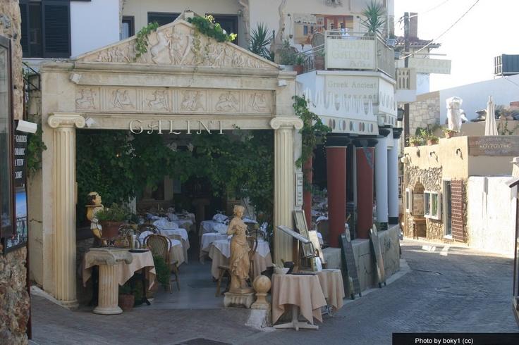 Koutouloufari Village in Crete, Greece