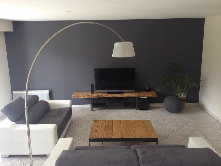 Faire Meuble Tv Palette : Table Basse Style Palette Sncf, Meuble Tv Bois Et Métalmobillier