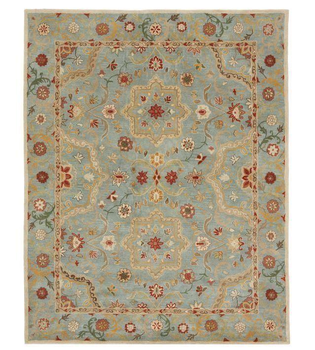 Brand New Persian Leslie Style Handmade Woolen Area Rugs Carpet Wool Pottery Barn