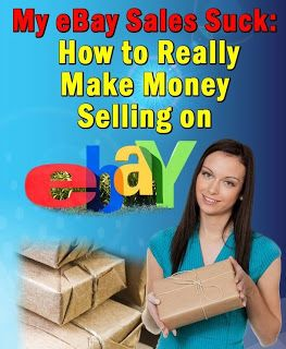 My eBay Sales Suck: How To Make Money Selling on eBay a free eBook from Amazon. #ebay #kindle #free
