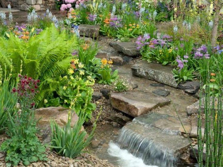 55 besten Garten Bilder auf Pinterest Bachlauf, Gartenteiche und - bachlauf im garten anleitung