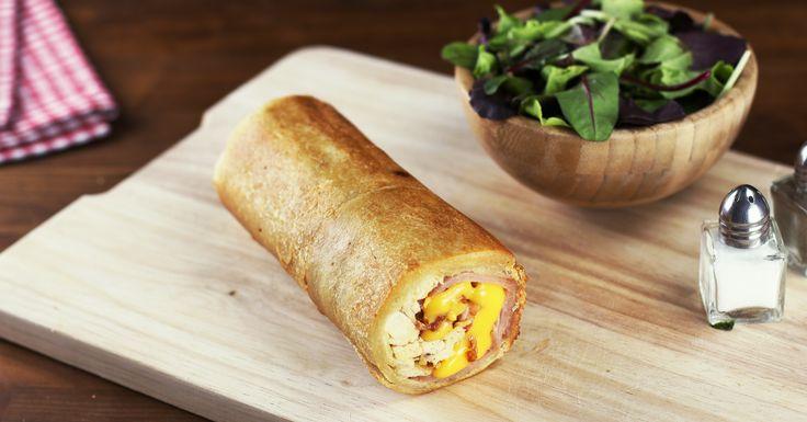 Este rollo está inspirado en un clásico de todos los tiempos. ¡Verás que el pan no tiene por qué ser plano!