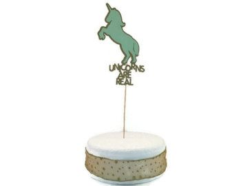 Mint green and unicorns - 2 of our favourite things!