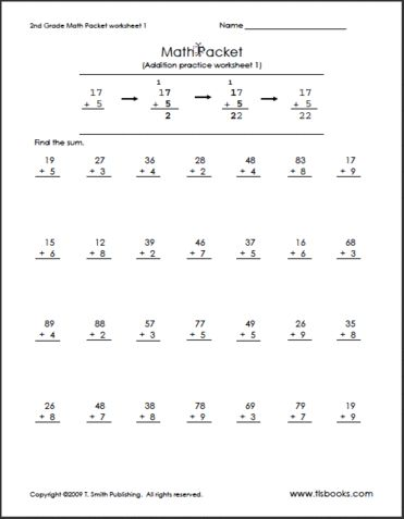 Printables 2nd Grade Math Worksheets Pdf 1000 images about math worksheets for jawaun on pinterest the 2nd grade this is a typical worksheet that i