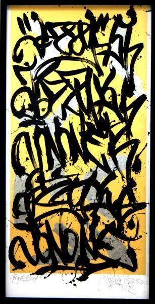 Joneone graffiti