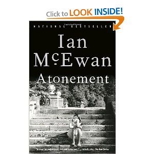 Most people agree this book is about atonement but I'd argue differently.: Worth Reading, Atonement, Books Worth, Movie, Ianmcewan, Novels, Favorite Books, Great Books, Ian Mcewan