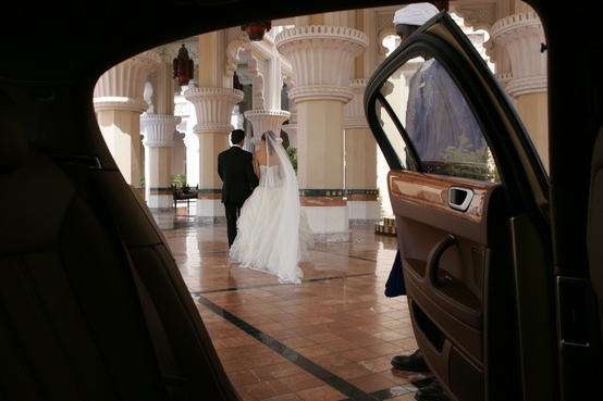 Madinat Jumeirah Resort, Dubai - Weddings -  Bride and Groom